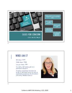 Lisa Miller Keynote CA AWHONN 2020 Handout slides